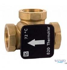 Термостатический клапан LK 820 механический, (латунь) ВВВ 1