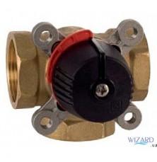 Трех-ходовый клапан c внутренней резьбой ВР (латунь) 1