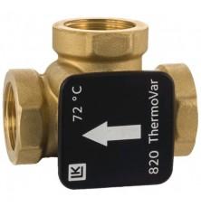 Термостатический клапан LK 820 механический, (латунь) ННН 1 1/4