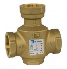 Термический 3-ходовой наливной клапан LK 823 Thermovar 1 ВВВ  55°C, LK Armatur