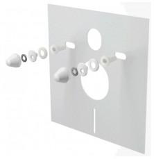 Звукоизоляционная плита с принадлежностями 420x400x6, Alcaplast