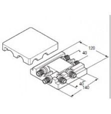 Розв'язка RAUTITAN двох перехресних трубопроводів 20-16-20