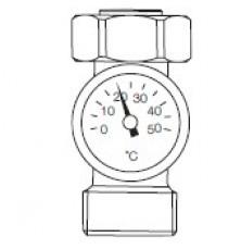 Термометр для зворотньої лінії