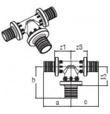 Трійник RAUTITAN PX 20-25-20