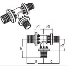 Трійник RAUTITAN PX 32-20-32