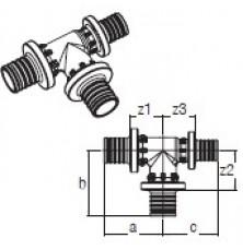 Трійник RAUTITAN PX 32-32-25