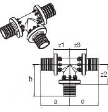 Трійник RAUTITAN PX 32-32-32
