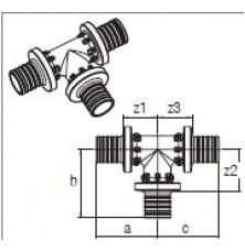 Трійник RAUTITAN PX 20-20-20