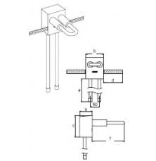 Блок для підключення до опалювального приладу RAUTITAN stabil 16, довжина 450мм