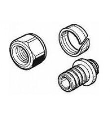 З'єднання різьбове для підключення труб RAUTITAN flex/his/pink 16 до колекторів та запірної арматури 3/4
