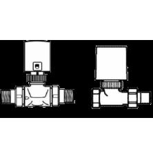 BKT вентіль прохідний DV 32 для переключення лінії опал. / охол.