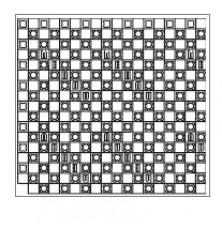 Varionova панель з фіксаторами 30-2 мм, 1400х800 мм