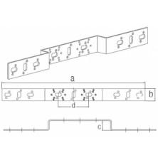 Кронштейн, тип O 100, 471х40 мм