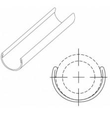 Жолоб фіксуючий для РЕ-труб 40
