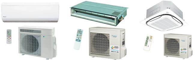 Модельный ряд климатической техники Daikin